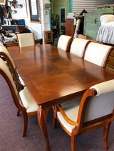 8 Chairs and Dining Table in Naperville, Illinois