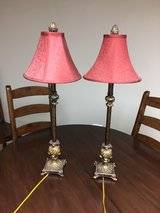 Set of 2 table lamps in Naperville, Illinois