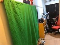 6x9 foot Green Screen for streaming in Okinawa, Japan