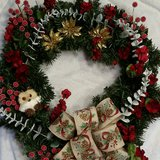 Holiday Wreaths in Camp Lejeune, North Carolina