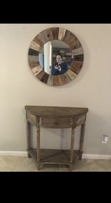 Table and mirror in Baytown, Texas