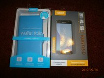 samsung galaxy j3 screen saver and case brand new in Lakenheath, UK