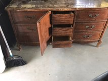 Old dresser  need someone to reclaim it lol in 29 Palms, California
