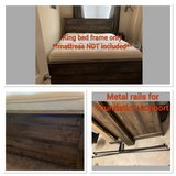 king bed frame in CyFair, Texas