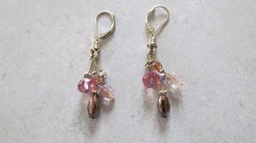 Pink Drop Earrings in Naperville, Illinois