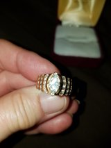 14 kt yellow gold engagement ring in Plainfield, Illinois