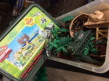 Plastic Army men in Plainfield, Illinois