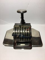 Antique. Hedman Check Writer in Fort Leonard Wood, Missouri