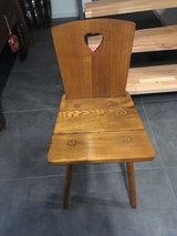 Traditional German Chair in Ramstein, Germany