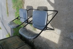 2 folding chairs new ( call my cell only ) in Okinawa, Japan