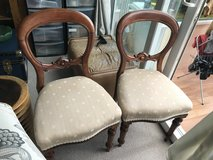 Pair of reupholstered Chairs in Lakenheath, UK