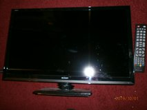 24 inch sharp tv with control good working order in Lakenheath, UK
