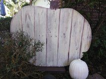 Large Wooden Pumpkin Decor in Conroe, Texas