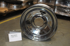 """15"""" 15 x 6 6/5.5 RIM WHEEL STEEL CHROME A-STYLE – TRAILER, HORSE// NEW in Clarksville, Tennessee"""