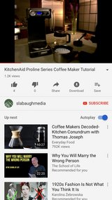 KitchenAid Proline series auto coffee maker in Conroe, Texas