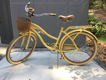 "Bike, Huffy, Nel Lusso Classic Cruiser Bike with Perfect Fit Frame, Women's, Yellow, 26"" in Fort Benning, Georgia"