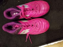Lotto pink cleats in Okinawa, Japan