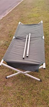 Camping Cot by Field and Stream in Cherry Point, North Carolina