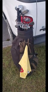 Macgregor irons with bag, driver, woods, and wedges in Cherry Point, North Carolina