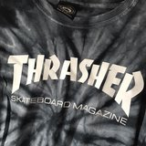 Thrasher Tiedye Tee in Okinawa, Japan