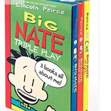 New in Package!  Big Nate Triple Play - 3 Books! in Chicago, Illinois