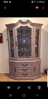Thomasville China Cabinet 1970's Renovated and Remodeled in Camp Pendleton, California