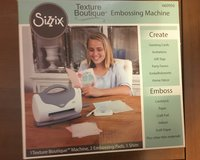 Sizzix Texture Boutique New in Box in Baytown, Texas