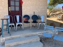 Lot of 8 Assorted Chairs: Dining/Side; Barstool; Patio - Contemporary, Industrial, Retro, Bistro in 29 Palms, California