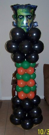 Balloon Creators -  Halloween Balloon columns & More in Pasadena, Texas