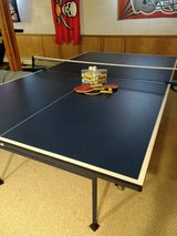 PingPong table and paddles and balls in Fort Drum, New York