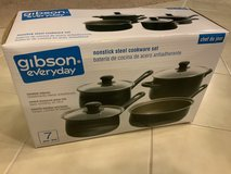 Gibson Nonstick 7Piece Cookware set in Travis AFB, California