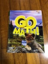 Go Math Volume 1 Book Never Used in Okinawa, Japan