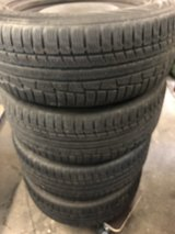 BMW wheels with snow tires 205/55-16 in Ramstein, Germany