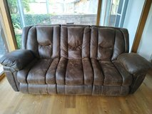 Soft Leather Couch in Stuttgart, GE