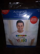Autograph t-shirt in Spring, Texas