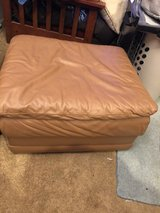 Leather ottoman in Fairfield, California
