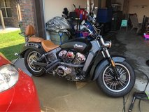 Indian scout in Clarksville, Tennessee