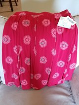 LuLaRoe Red Madison Size L New with tags in Great Lakes, Illinois