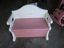 GIRLS PINK BENCH in Joliet, Illinois