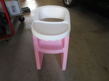 GIRLS PINK DOLL HIGH CHAIR in Joliet, Illinois