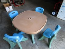STEP 2 TABLE AND CHAIRS in Joliet, Illinois