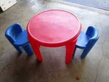 LITTLE TIKES TABLE AND CHAIRS in Joliet, Illinois
