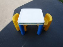 LITTLE TIKES TABLE WITH 2 CHAIRS in Joliet, Illinois