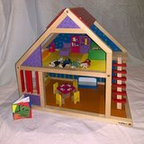 "Ryan's Room ""It's 2 Cute"" Preschool Wooden Dollhouse in Oswego, Illinois"