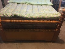 Queen  3 piece waterfall bed room set in Clarksville, Tennessee