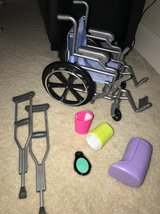 Wheelchair etc. for American Girl in Kingwood, Texas