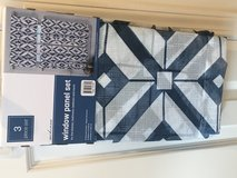 Curtains Cafe Tiers Panels Valance NEW in Naperville, Illinois