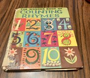 Vintage The Wonder Book of Counting Rhymes in Glendale Heights, Illinois