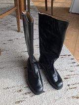 Original GDR (eastern Germany) military boots, size 8.5 for collector in Grafenwoehr, GE