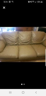 Leather Couch Set in Warner Robins, Georgia
